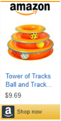Tower of tracks-cat toy